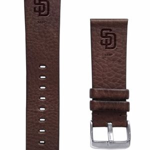 San Diego Padres Quick Change Leather Watch Band